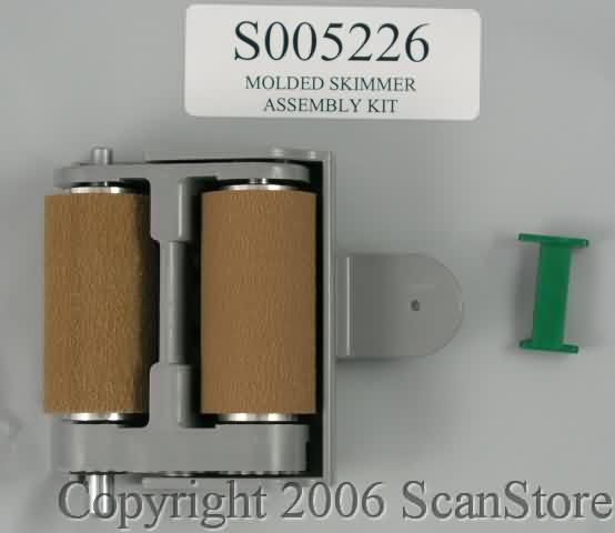 Bell & Howell (Kodak) Skimmer Assembly for Plus/Spectrum/Spectrum XF Series Scanners (used to be S004319 & S005226)